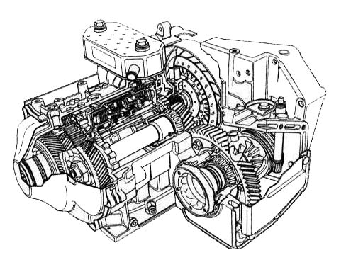 AD4 Transmission parts, repair guidelines, problems, manuals