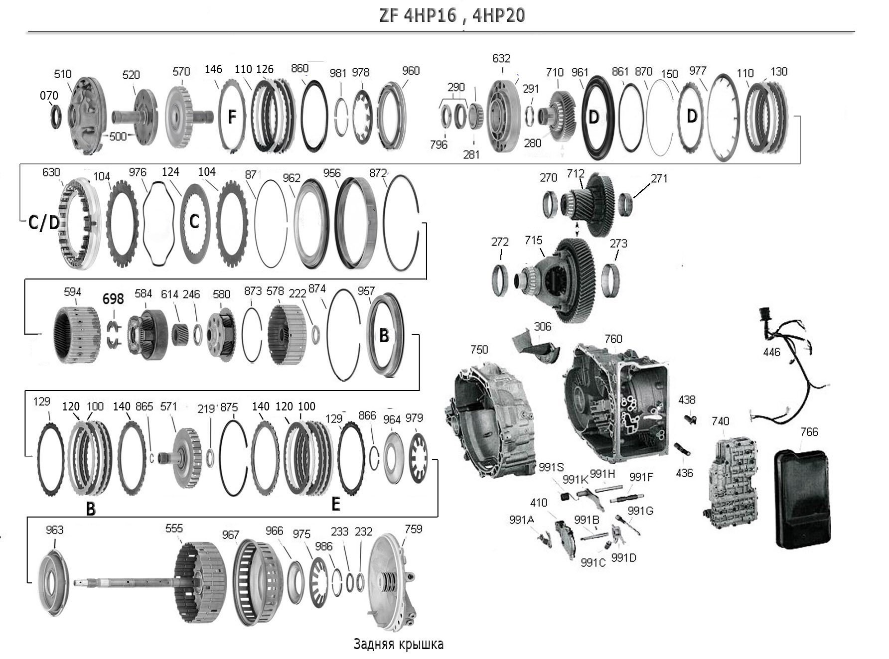 4HP20 Friction Kit